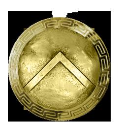 Scudo Spartalia.com oro